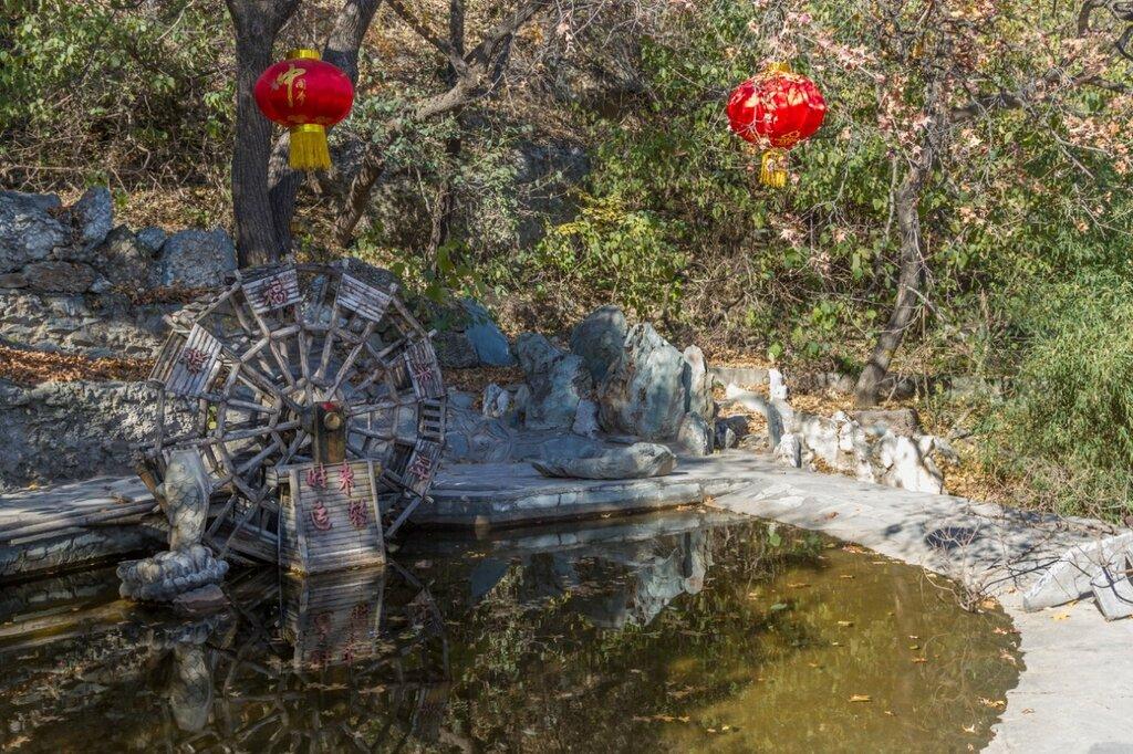 Водяное колесо, Баочжу-дун, Бадачу