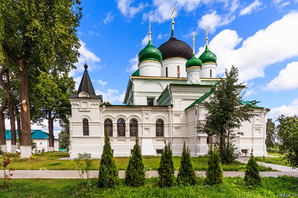 Переславль-Залесский, Феодоровский женский монастырь, Собор Феодора Стратилата
