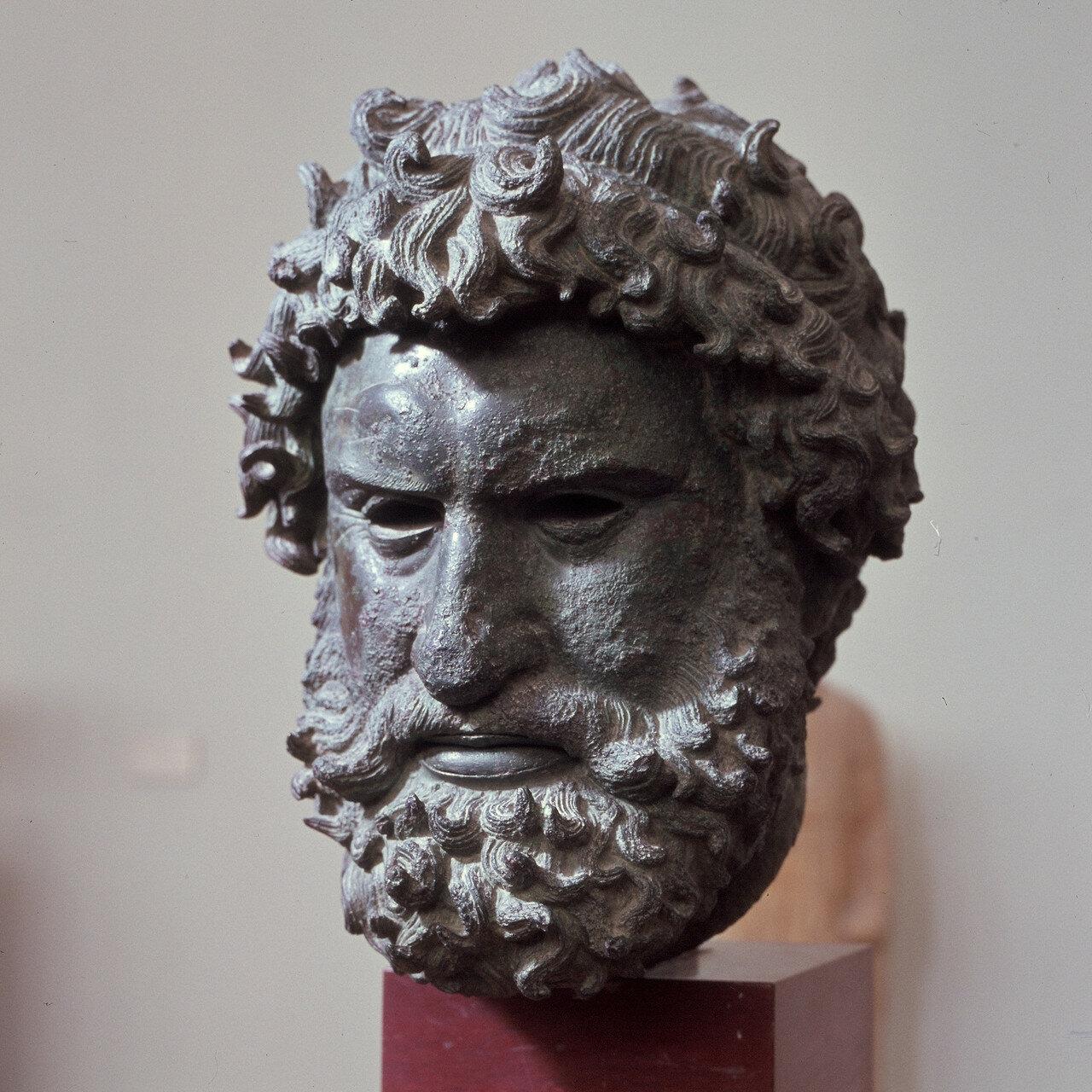 Афины. Национальный археологический музей. Портрет кулачного бойца