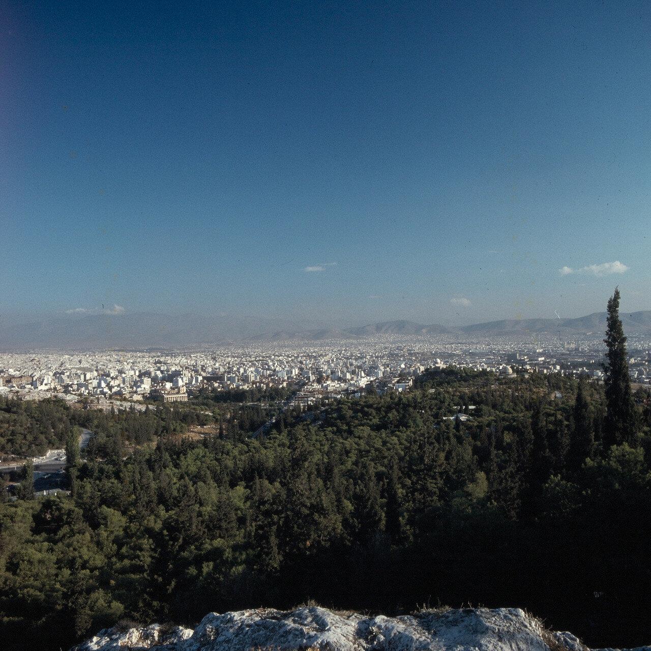 Афины. Храм Гефеста, ареопаг