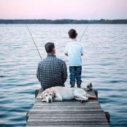 Рыбалка с отцом