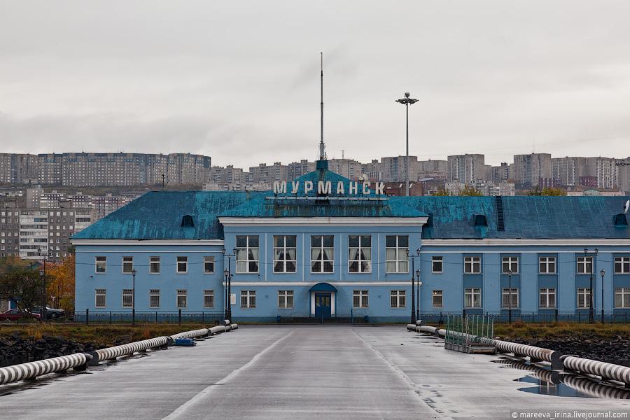 В Мурманском морском вокзале появится пункт пропуска через границу