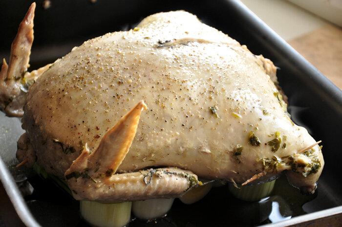 Фаршированная кожа курицы пошаговый рецепт с фото