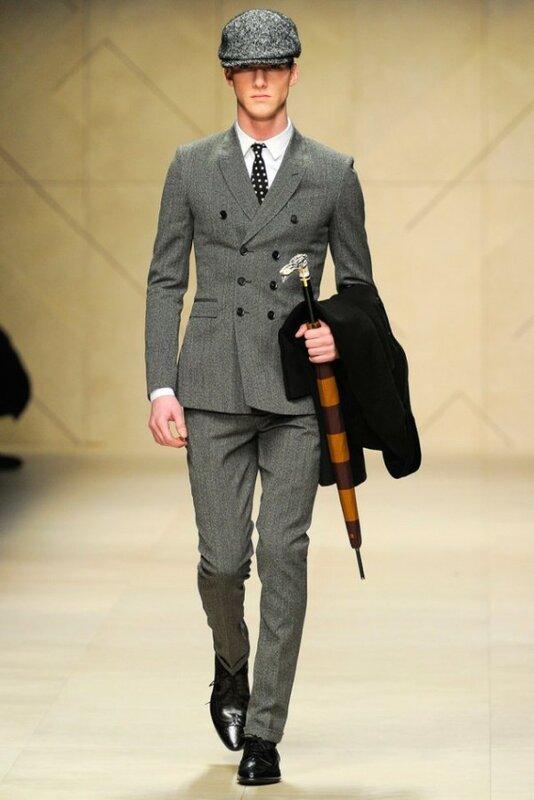 Мужская Мода Зима