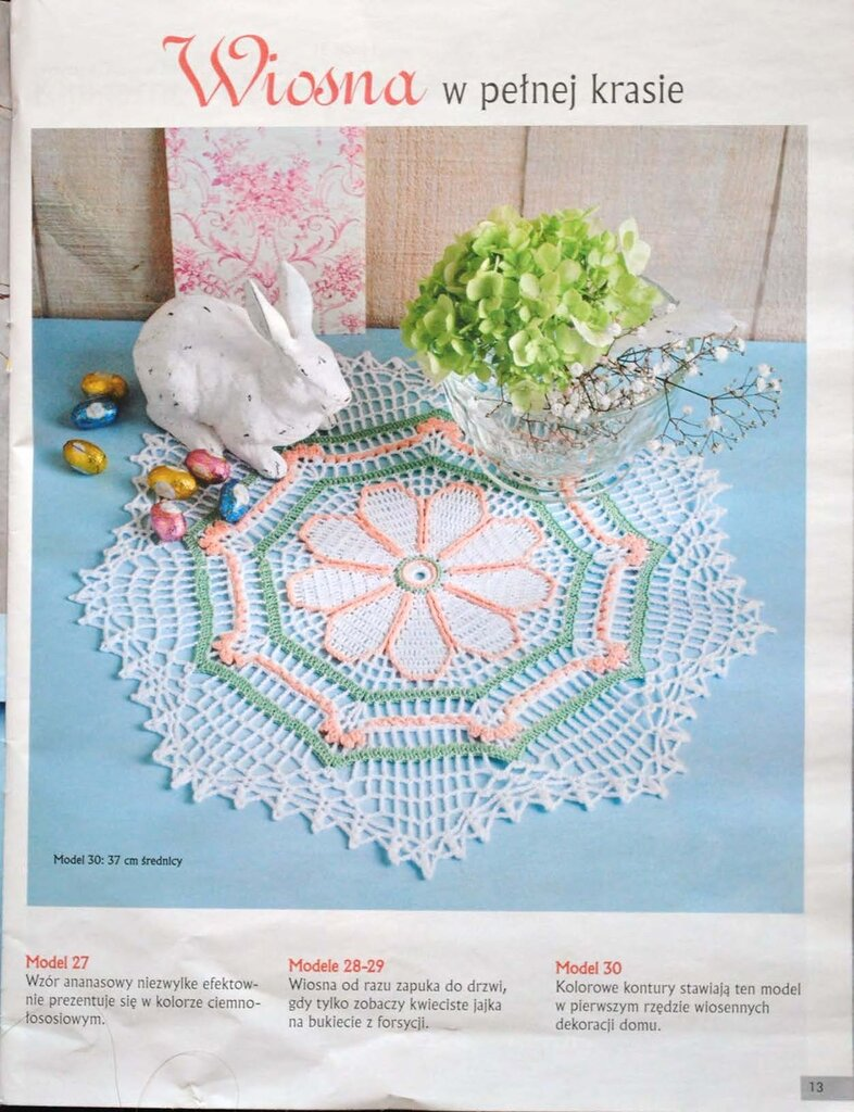 Szydelkowanie Wielkanoc - №1 - 2012