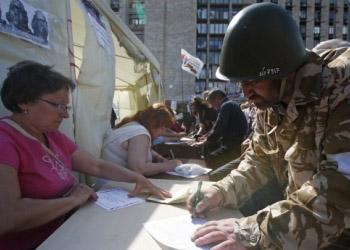 Результаты референдумов на востоке Украины