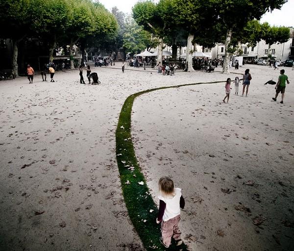 Зеленая дорожка во Французской деревне 3