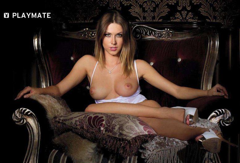 Девушка месяца Ольга Альберти Playboy Россия, май 2012