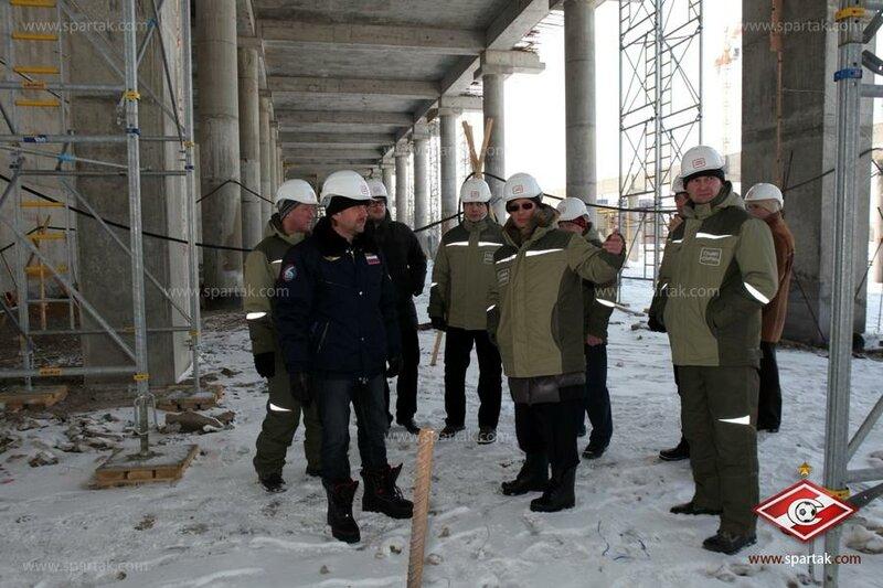 Леонид Федун на стадионе «Cпартак» (Фото)