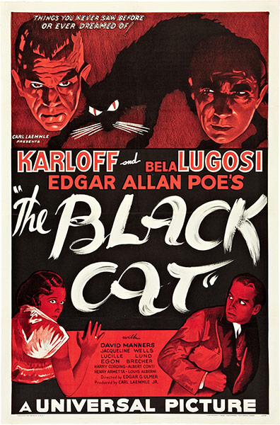 Top Selling Film Posters - The Black Cat, 1934