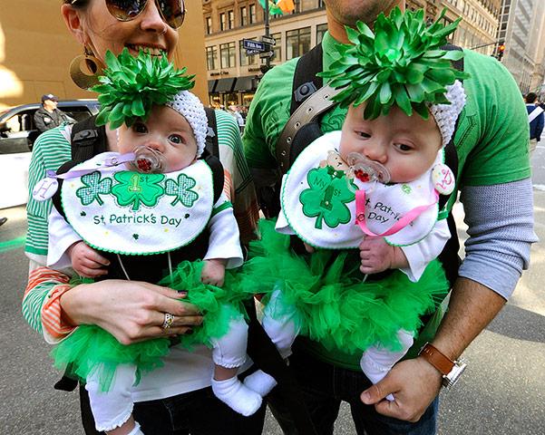 St Patrick's Day celebrations around the world