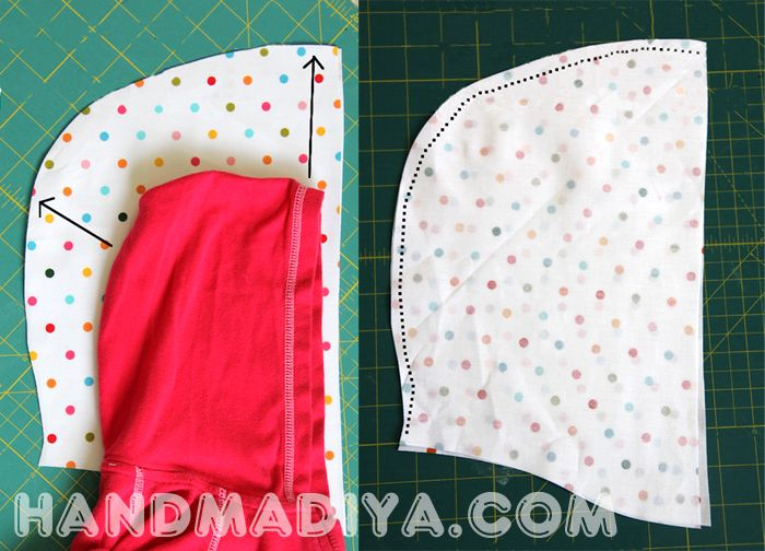 We sew a beautiful raincoat quickly and simply.
