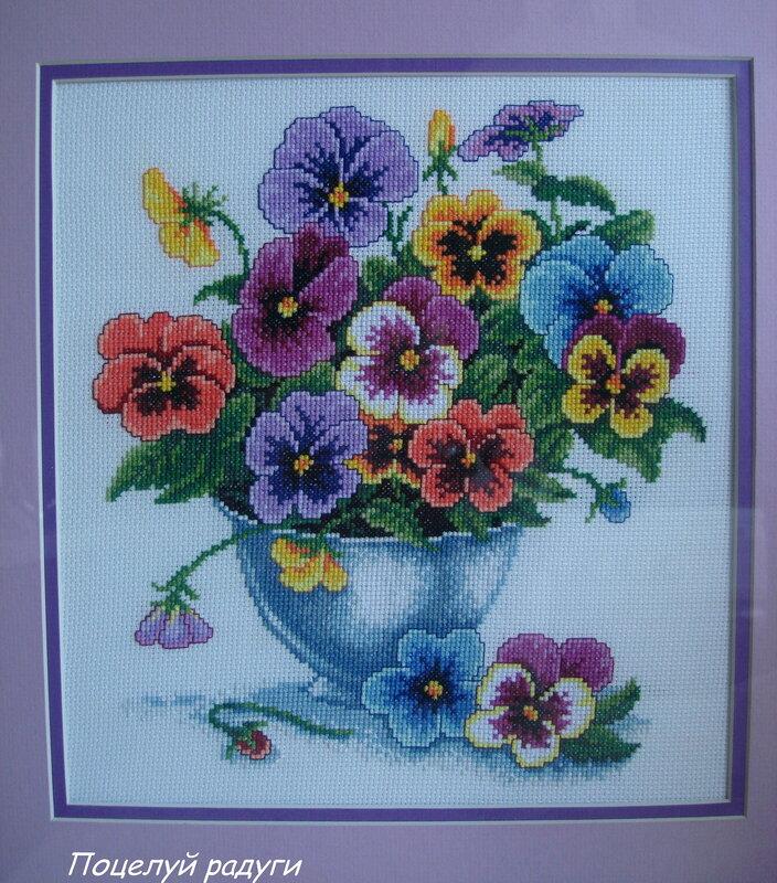 Картинки из соленого теста цветы 2