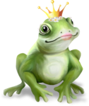 NLD Frog Princess with Crown sh.png