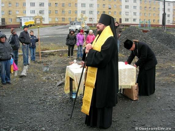Арктика. Тикси-1. Владыка Роман (Лукин) Якутский и Ленский.