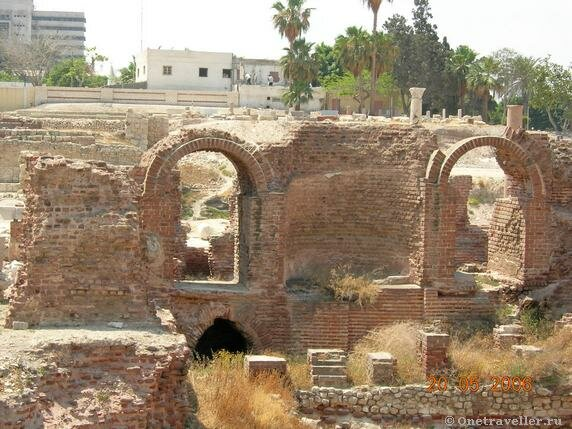Египет. Александрия. Римский амфитеатр-2.