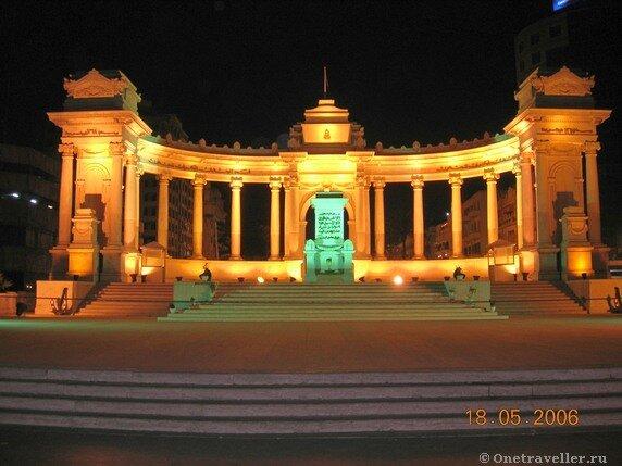 Египет. Александрия. Памятник неизвестному солдату.