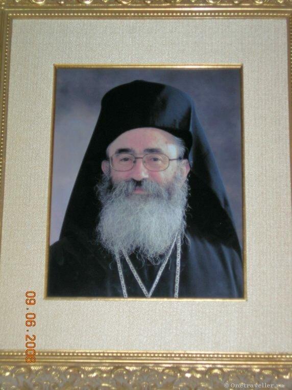 Архиепископ Дамиан настоятель монастыря Святой Екатерины