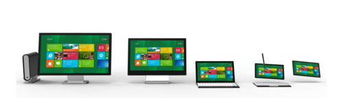 win8 screens