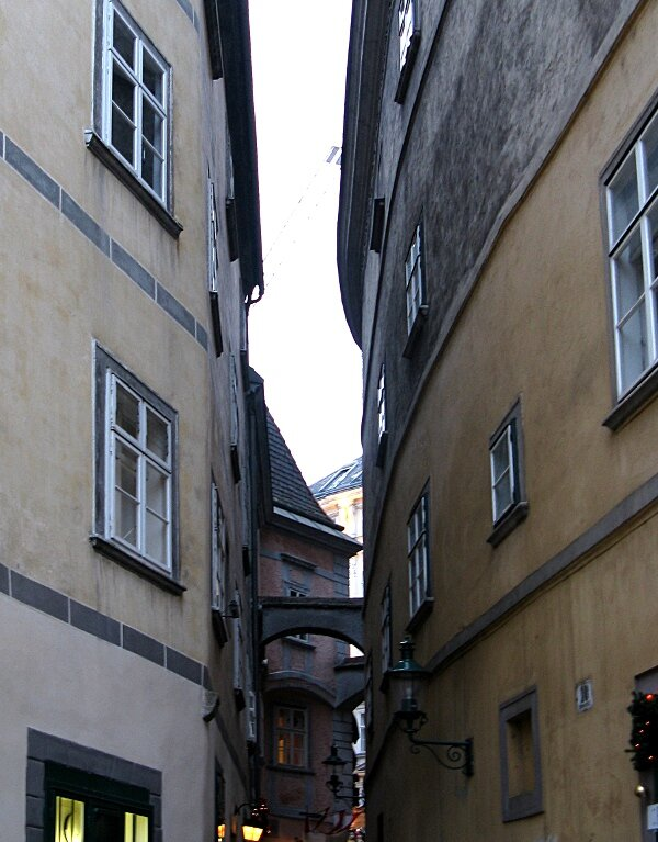 Streets of old Vienna