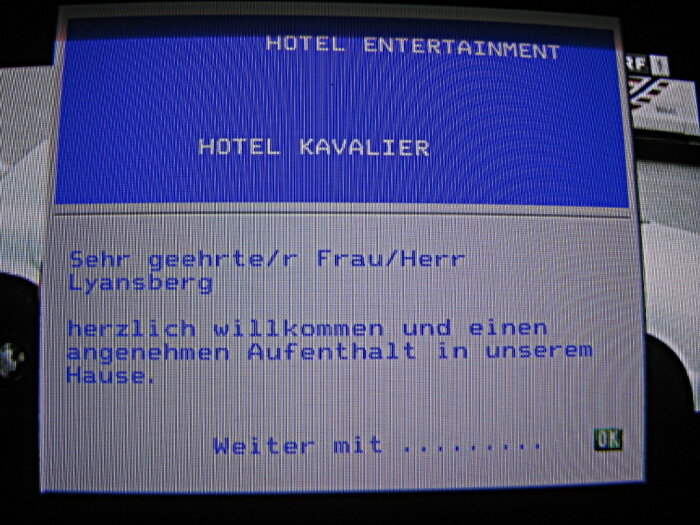 Отель Kavalier, Вена