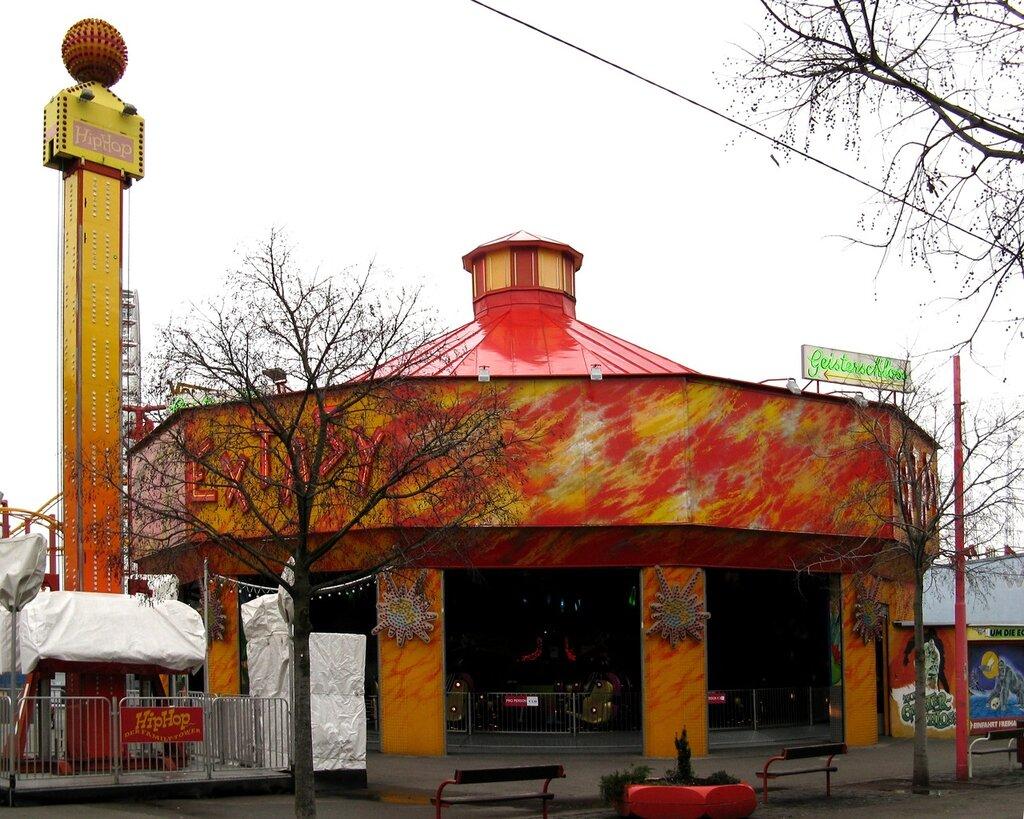 Пратер, парк развлечений, Вена