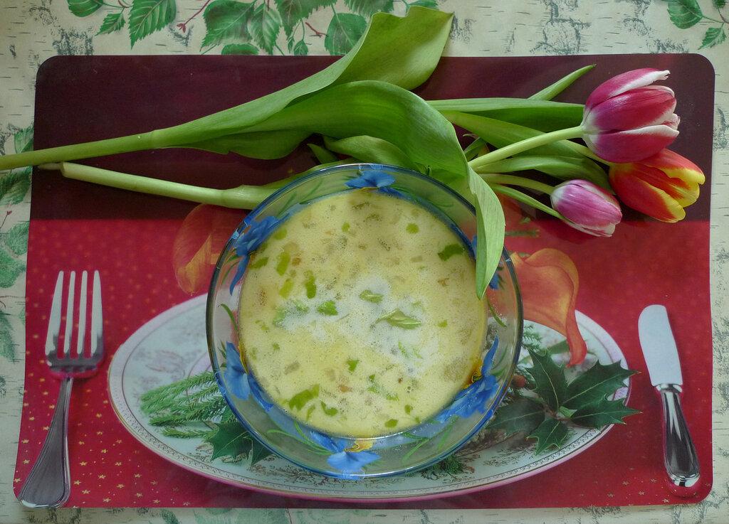Как сварит суп из сельдерея
