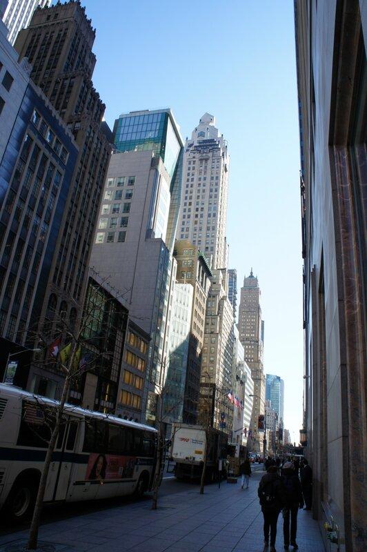Нью-Йорк. Небоскребы