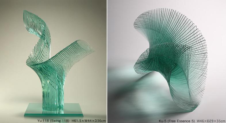Декоративная стеклянная пластика от Niyoko Ikuta