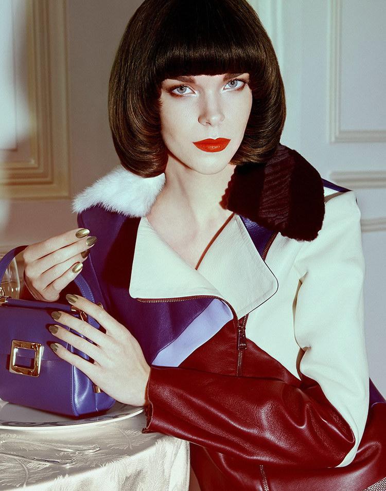 Меган Коллисон в июльском Harper's Bazaar Singapore 2014