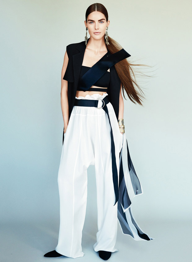 Хилари Рода (Hilary Rhoda) в журнале American Glamour (8 фото)