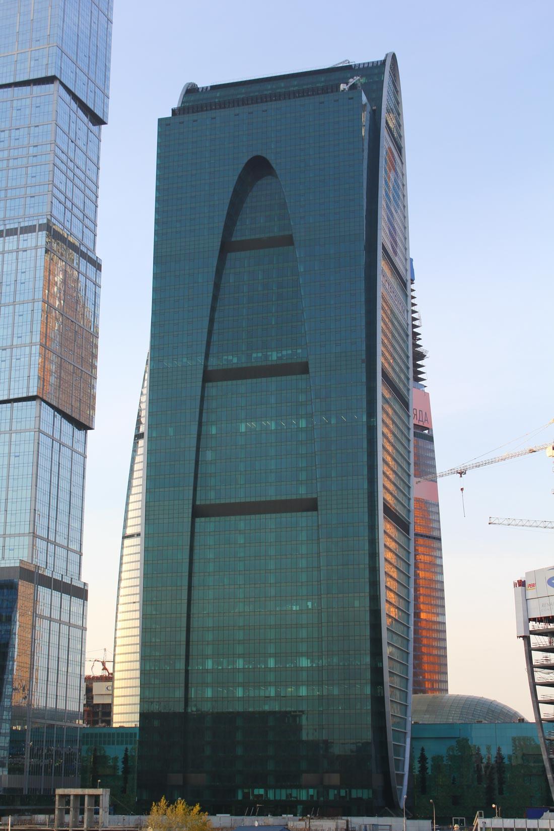 Башня «Империя» в Москва-Сити (Москва) — смотровая площадка открылась в 2014 году на высоте 58-го эт