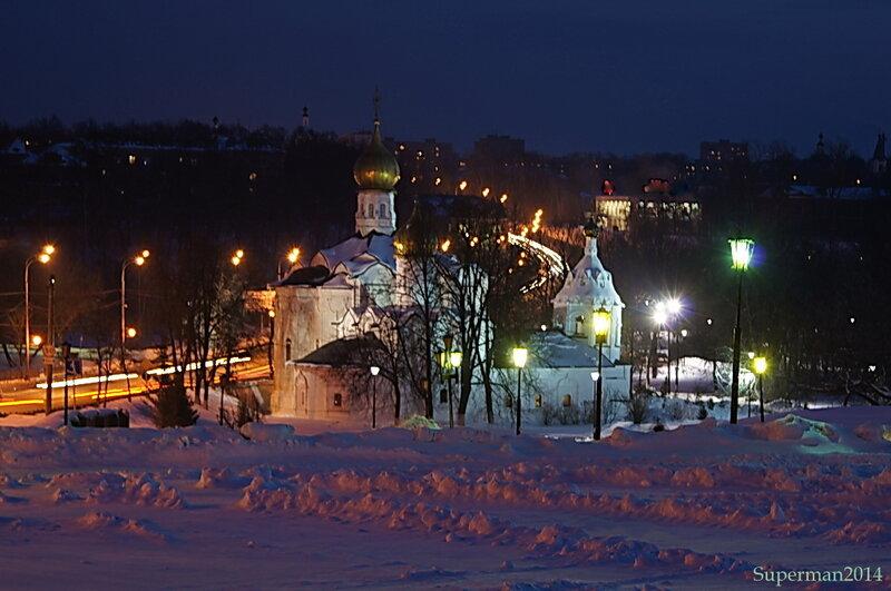 Сергиев Посад ночью