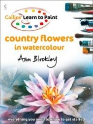 Книга Country Flowers in Watercolour