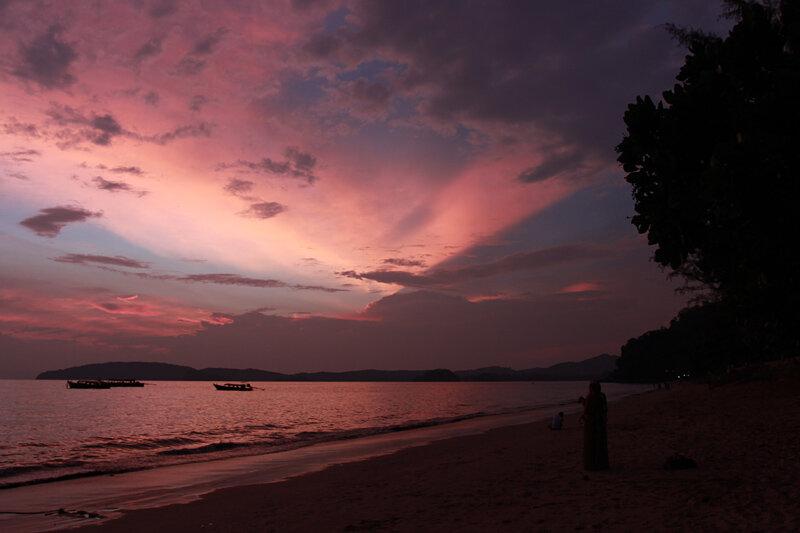 Закат в Ао Нанге