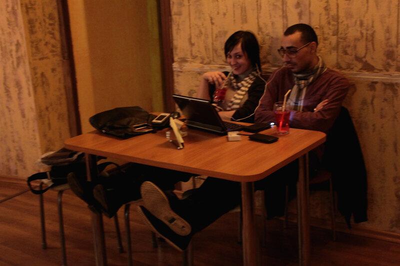 Ай да работнички! Саратов, Абриколь, 11 марта 2012 года