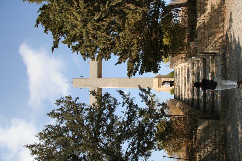 Крест в конце Пути на Голгофу