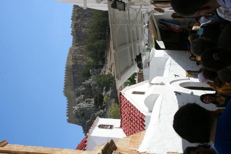 Вид на старый Линдос