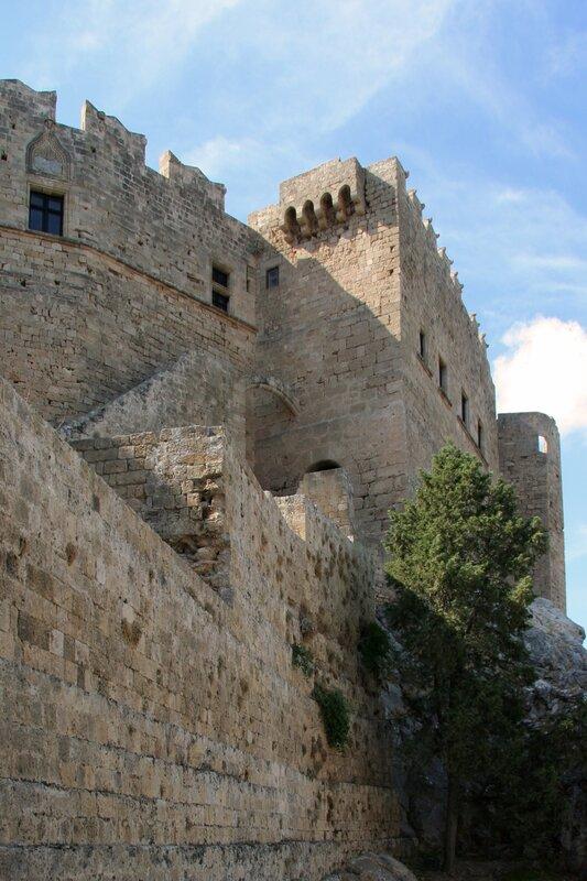 Крепость Рыцарей в Линдосе