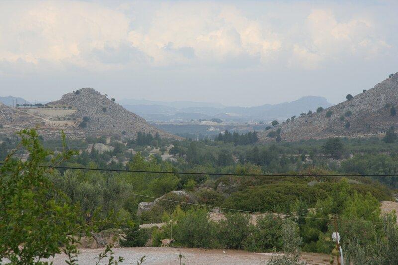 Окрестности монастыря Богородицы Цамбики