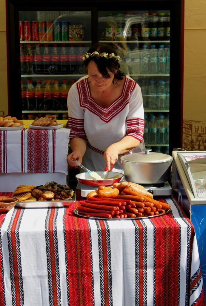 Торговля сосисками