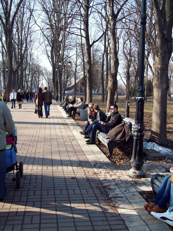 Скамьи Мариинского парка