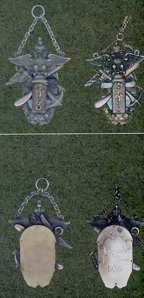Жетоны 3-й авиационной роты. Такие жетоны, видимо, были вручены 31 декабря 1915 года сразу нескольким военнослужащим..jpg