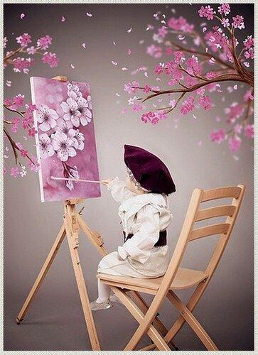 Я рисую весну