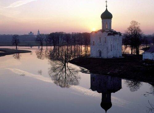 Белякова Н. Е. Церковь на реке Нерли   0_87d38_e6e60824_L