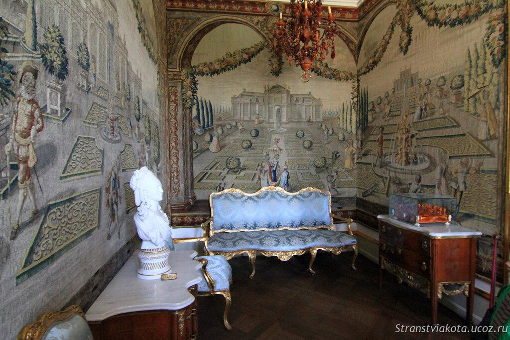 Залы и комнаты в замке Розенборг, Дания