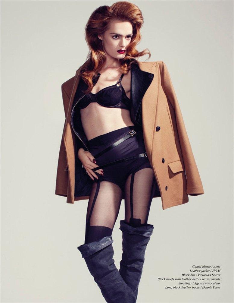Swanny Visser / Свонни Виссер в журнале Schon Magazine, фотограф  Klaas Jan Kliphuis
