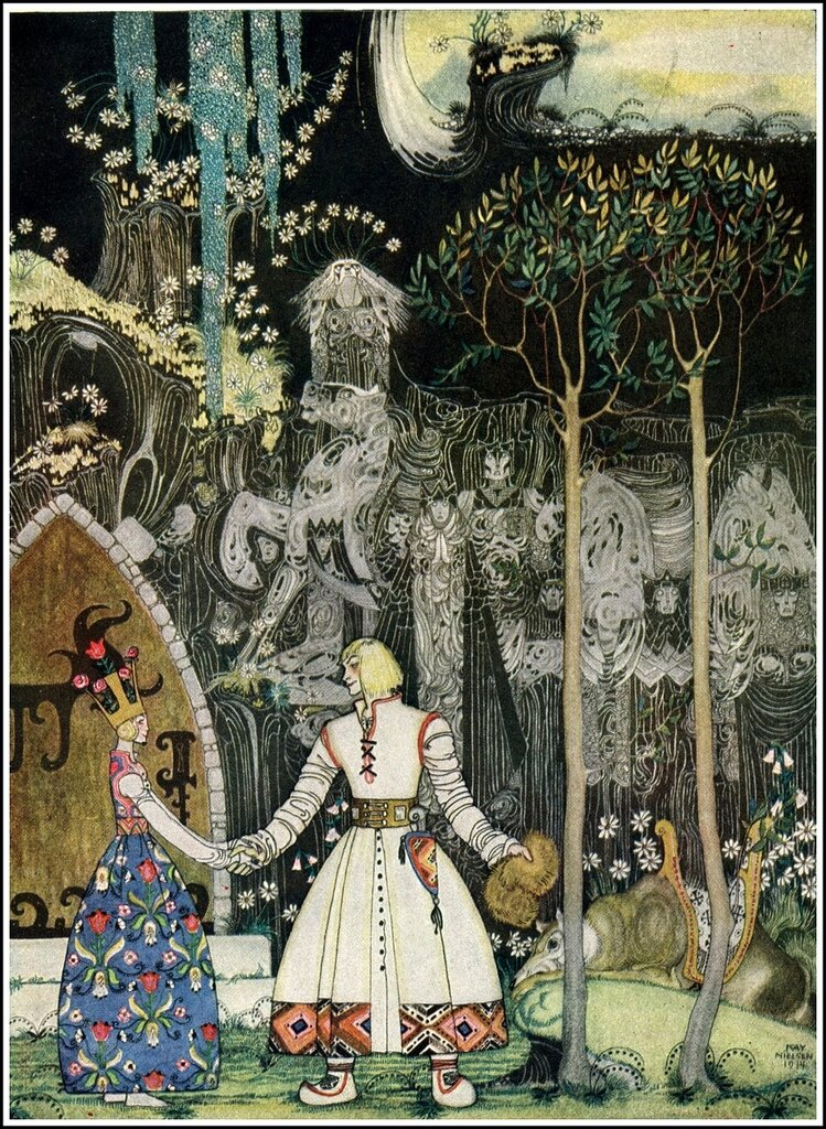 Kay Nielsen1886 ~ 1957. The Giant Who had No Heart