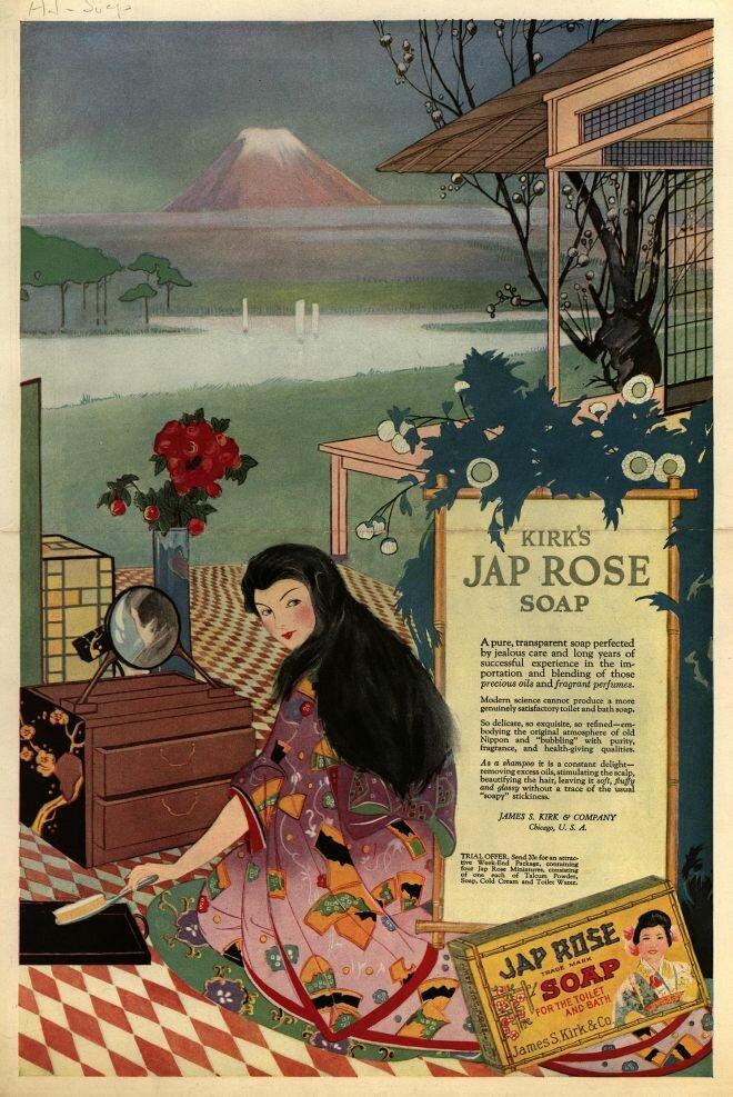 Jap Rose Soap, 1919