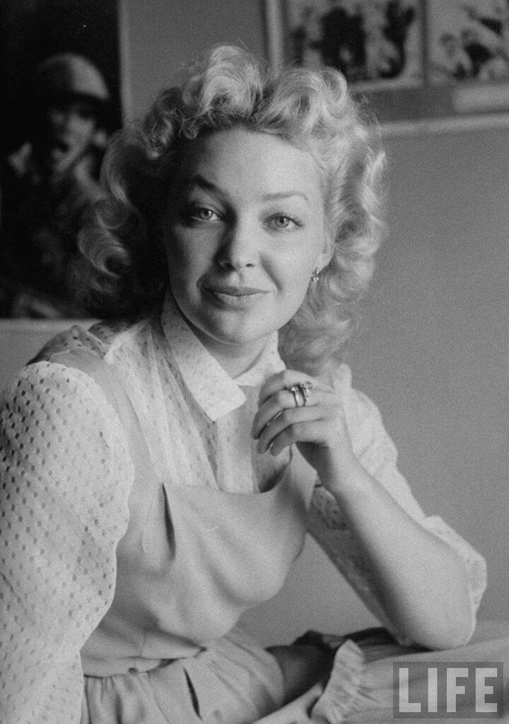 Советская кинозвезда Ирина Скобцева